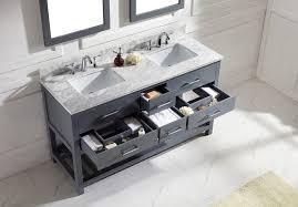 60 double sink bathroom vanities. Virtu USA 60\ 60 Double Sink Bathroom Vanities