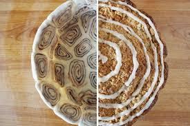 apple pie with cinnamon roll crust we