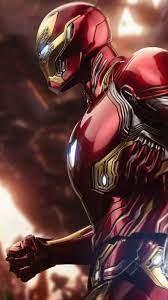 Iron Man Mark 50 Fighting Thanos iPhone ...