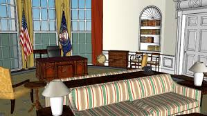 Jimmy carter oval office Plan View Jimmy Carter Oval Office 3d Warehouse Sketchup Jimmy Carter Oval Office 3d Warehouse