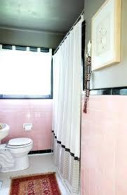 bathroom decor blue and pink bathroom