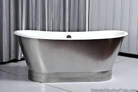 steel bath tub cast iron double ended stainless steel slipper pedestal tub steel bathtub canada steel steel bath tub