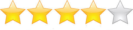 Image result for four stars out of five