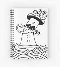 Spiral Notebook Coloring Pagel L