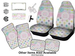 girly girl car accessories set personalized