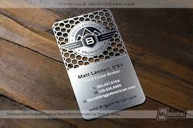 Stainless Steel Business Cards Starter Pack