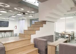 Office Stairs Staircase With Upside Down Sections At An Office In Mexico By Goko