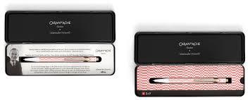 Caran D'Ache 849 Alexander Girard, Check Stripes pink - Vitra