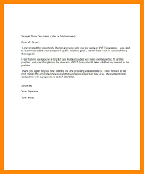 Sample Business Thank You Letter Interview Best Of Thank You Letter