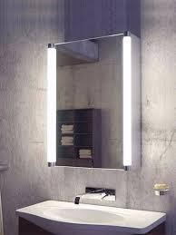 bathroom mirror cabinets with lights. Plain Cabinets Saber LED Bathroom Demister Cabinet Throughout Mirror Cabinets With Lights O