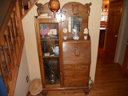 furniture ancient varnished wooden secretary desk with glass door as well as small secretary desk also secretary cabinet desk antique drop front secretary