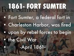 「1861 Fort Sumter」の画像検索結果