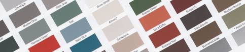 Color Chart Coated Metals Group
