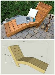 wood chaise lounge chairs. Wood Outdoor Chaise Lounge Beautiful 15 Best Diy Chairs
