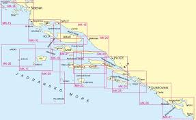 Nautical Chart Numbers Croatia Sailing Holidays And Yacht Charters