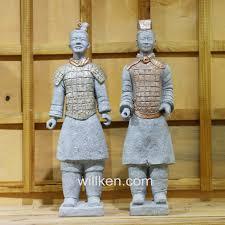 china xi an antique statues replica garden decor terracotta warriors statue china garden statue garden decoration