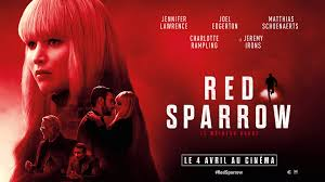 Art Posters Art Red Sparrow Movie Le Moineau Rouge Jennifer Lawrence Poster  14×21