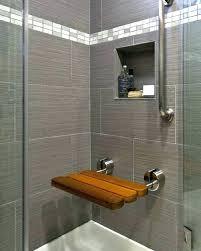 small shower seat folding small teak corner shower bench