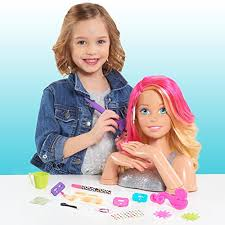 barbie deluxe colour specialist styling head b072mgtpqc