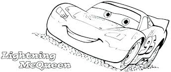 Lightning Mcqueen Coloring Pages Free Cars Mcqueen Coloring Pages