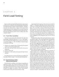 Road Foundation Design Chapter 3 Field Load Testing Design Guidelines For