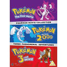 Kaufe Pokemon Movie Collection DVD (Pokemon The First Movie, Pokemon The  Movie 2000, Pokemon 3 The Movie) - UK Import