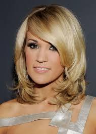 Medium Hairstyles Layers Side Bangs Layered Medium Hair Styles