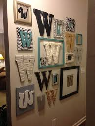 letter decor for walls