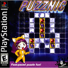 sony playstation 1 games. puzznic - playstation 1 game complete sony playstation games