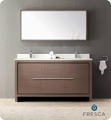 60 double sink bathroom vanities. Full Size Of Bathroom Sink:fresca Allier 60 Modern Double Sink Vanity Grey Oak Vanities
