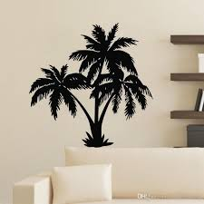 palm tree wall stickers modern home decor removable vinyl wall decals plant self adhesive sticker wall accents decals wall accents stickers from moderndecal