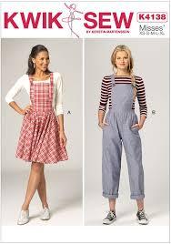 Jumper Pattern Best Misses Jumper And Jumpsuit Kwik Sew Sewing Pattern 48 Sew Essential