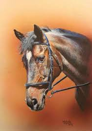 reeves um painting by numbers horse s head