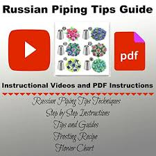 Russian Piping Tips Chart Russian Piping Tips Russian Nozzles For Cake Cupcake Icing Decorating Piping Tips 27 Pcs Russian T