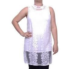Alfani Size Chart Women S Alfani Womens Lace Mock Neck Sleeveless Top Size S 20 99