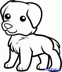 Small Picture How to draw a Golden Retriever Puppy Step by step Drawing
