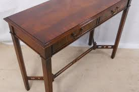 thomasville console table mahogany console table in