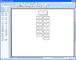 Visio 2016 Org Chart No Pictures Displaying The Windows Directory As A Visio Organization Chart