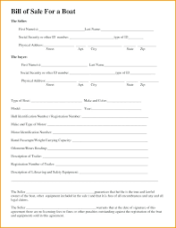 Sample Of Bill Of Sale For Car Bill Of Sale Template Florida