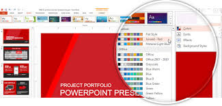 microsoft powerpoint slideshow templates how to make powerpoint themes with a custom color palette