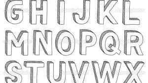 Bubble Letters Font Bubble Letters 3d Font 3d Letter S Courtnews Info