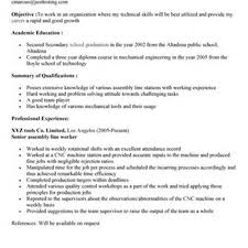 Ideas Of Production Line Worker Job Description For Resume Simple