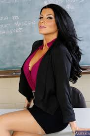 Romi Rain gets her tight little pussy fucked in class Naughty.