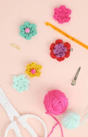 Small Crochet Flower Pattern Unique Design Ideas