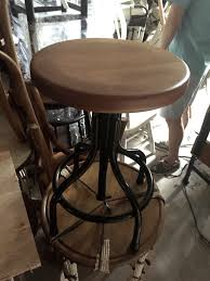 industrial themed furniture. IMG_2391 Adjustable Barstools Fit For Any Industrial Themed Furniture