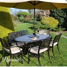 garden set. Ballyconnell Oval Garden Set I
