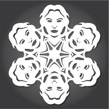 Snow Templates 60 Free Paper Snowflake Templates Star Wars Style Christmas