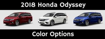 2019 Honda Odyssey Color Chart Honda Overview