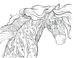 Horse Coloring Picture Coloring Horse Pictures Coloring Horse