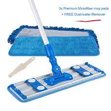 allzone professional microfiber mop for hardwood laminate floor robust adjule aluminum handle 360 degree